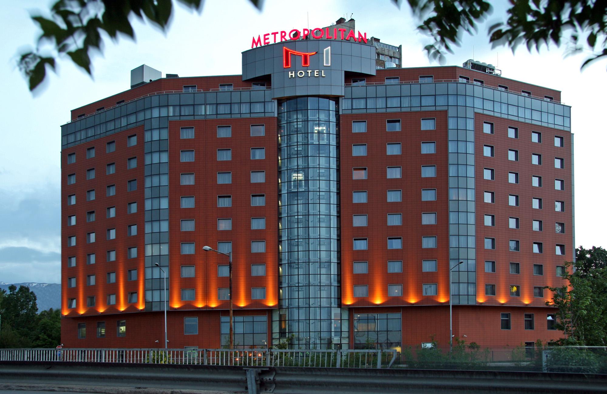 Наш киоск и в Хотел Метрополитън - София