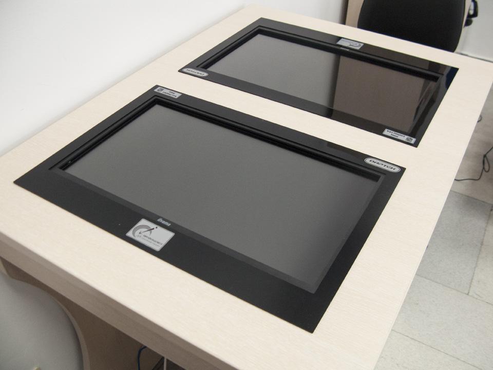 Поредната интерактивна мултитъч маса - в ОИЦ Силистра