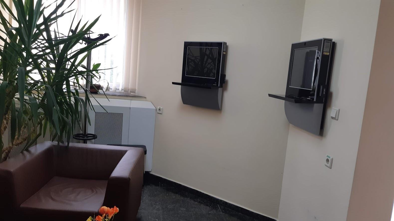Киоски за автоматичен инструктаж в Аурубис-България АД - Пирдоп