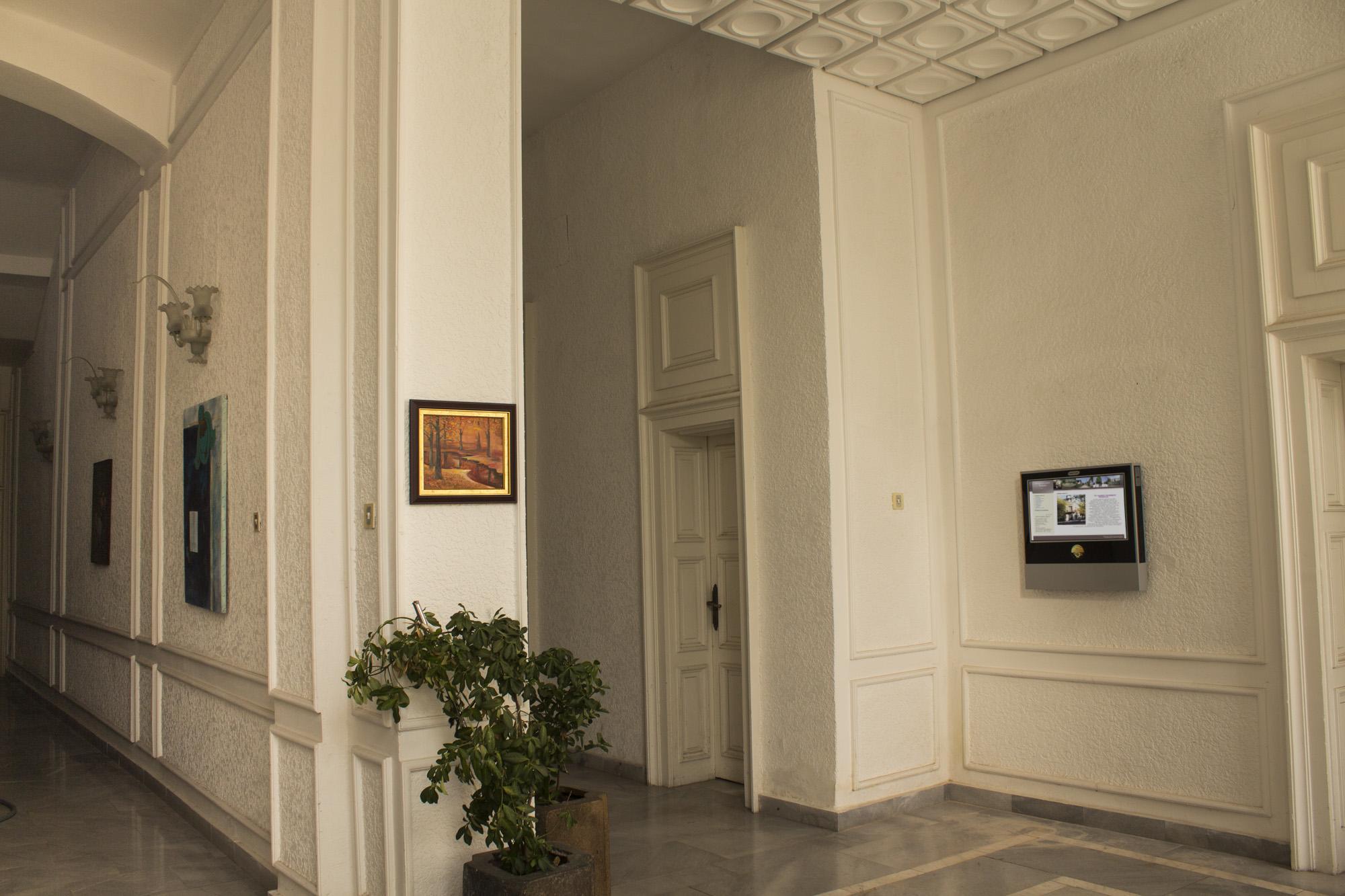 Информационен киоск в Художествена галерия Тутракан