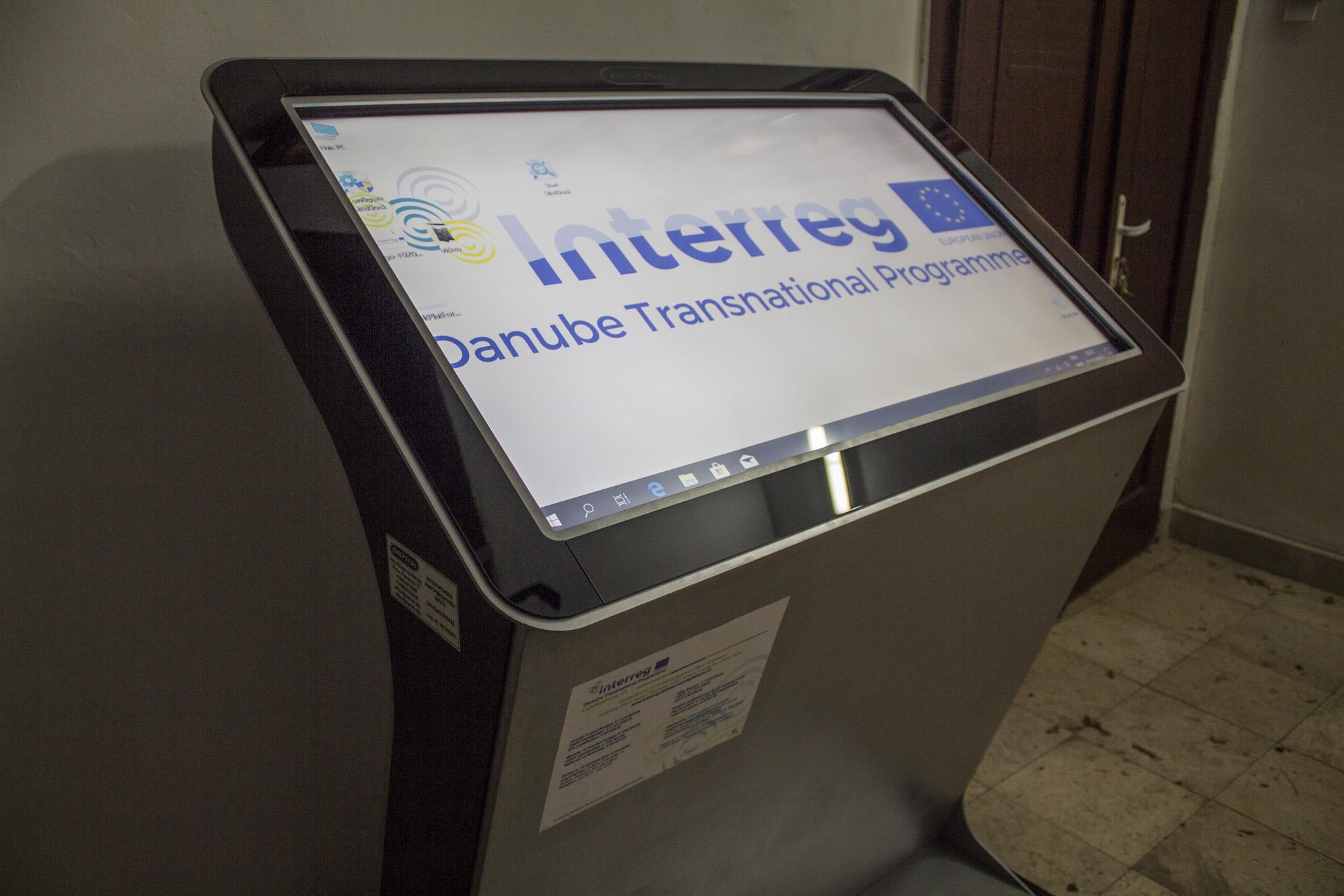 Информационен киоск в старата турска поща - Видин