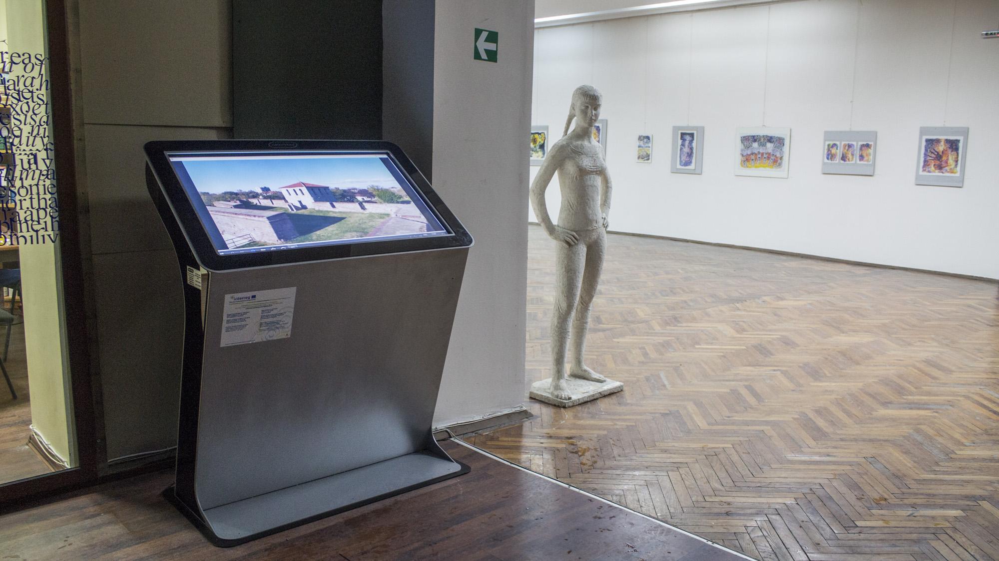 Информационен киоск в Художествена галерия Видин