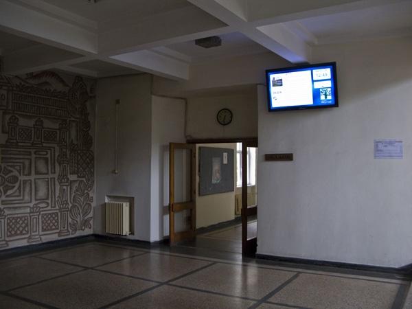 Лесотехнически Университет - София - информационни киоски и система за управление на дисплеи (digital signage)