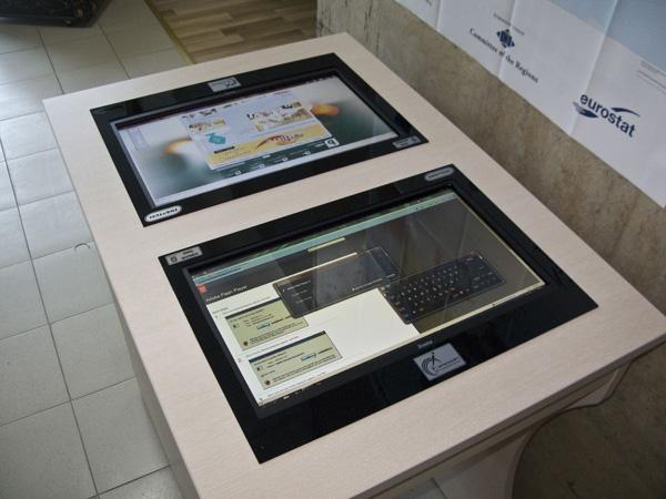 Областен Информационен Център - Шумен - интерактивна маса
