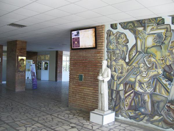 Диджитал сайнидж в Шуменски Университет
